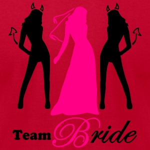 team bride 2 colors Tanks - Men's T-Shirt by American Apparel