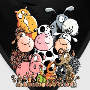 Funny Farm Animals Kids' Shirts - Bandana