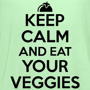 Keep calm and eat your veggies T-Shirts - Women's Flowy Tank Top by Bella