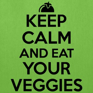 Keep calm and eat your veggies T-Shirts - Tote Bag