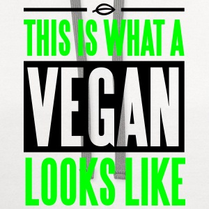 This is what a vegan looks like T-Shirts - Contrast Hoodie