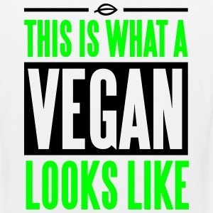 This is what a vegan looks like T-Shirts - Men's Premium Tank