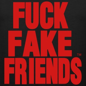 FUCK FAKE FRIENDS - Men's Premium Tank