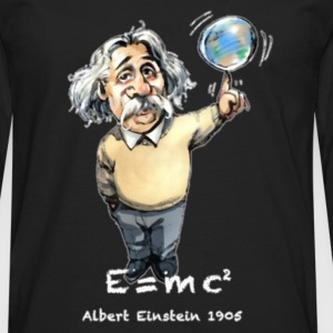 Albert E=MC 2 T-Shirts - Men's Premium Long Sleeve T-Shirt