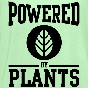 Powered by Plants T-Shirts - Women's Flowy Tank Top by Bella