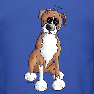 Boxer - Dog - Dogs Long Sleeve Shirts - Men's T-Shirt