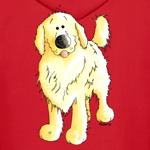 Funny Golden Retriever - Dog Kids' Shirts - Men's Hoodie