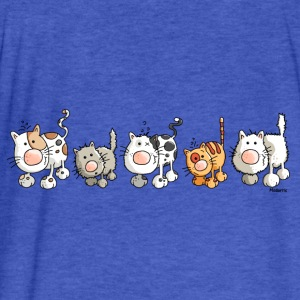 Funny Cats - Cat Sweatshirts - Fitted Cotton/Poly T-Shirt by Next Level