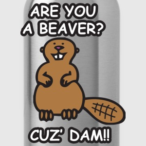 Are you a beaver? Cuz' Dam! - Water Bottle