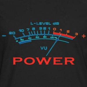 music power T-Shirts - Men's Premium Long Sleeve T-Shirt