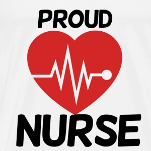 Proud nurse - Men's Premium T-Shirt