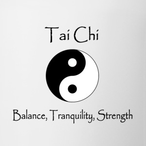 Men's Tai Chi - Balance, Tranquility, Strength - Coffee/Tea Mug