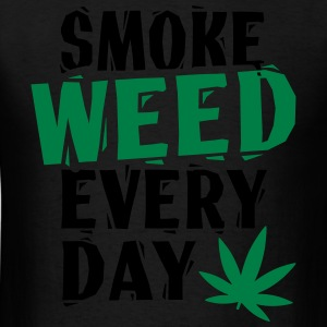 SmokeWeedEveryDay  LinoVe Hoodies - Men's T-Shirt
