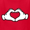 Mickey LOVE hands Kids' Shirts - Kids' T-Shirt