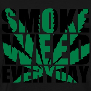 SmokeWeedEveryDay  Impact Hoodies - Men's Premium T-Shirt