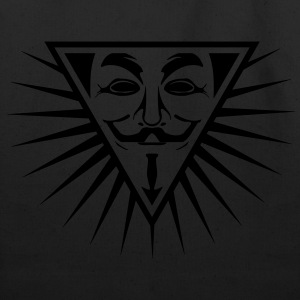 Anonymous NWO logo 1c T-Shirts - Eco-Friendly Cotton Tote