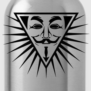 Anonymous NWO logo 1c T-Shirts - Water Bottle