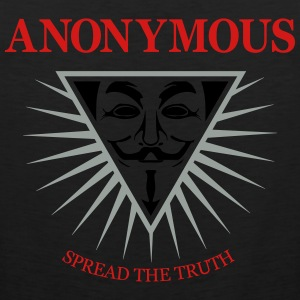Anonymous NWO 3c Hoodies - Men's Premium Tank