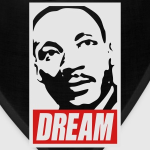x Dream MLK  2c noir Women's T-Shirts - Bandana