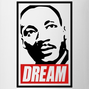 x Dream MLK  2c blan Kids' Shirts - Coffee/Tea Mug