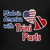 Made in America wt Trini parts Kids' Shirts - Kids' Premium T-Shirt