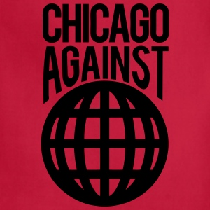 Chicago Against The World T-Shirts - Adjustable Apron