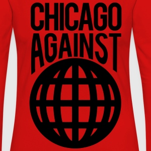Chicago Against The World T-Shirts - Women's Premium Long Sleeve T-Shirt