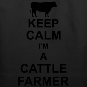 keep_calm_im_a_cattle_farmer_g1 T-Shirts - Eco-Friendly Cotton Tote