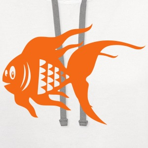 Goldfish T-Shirts - Contrast Hoodie