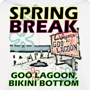 Spongebob Spring Break T-Shirts - Men's Hoodie