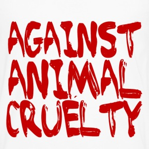 Against Animal Cruelty - Men's Premium Long Sleeve T-Shirt