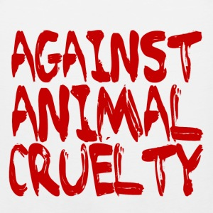 Against Animal Cruelty - Men's Premium Tank