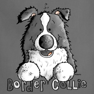 Sweet Border Collie - Dog - Dogs T-Shirts - Adjustable Apron