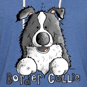 Sweet Border Collie - Dog - Dogs T-Shirts - Unisex Lightweight Terry Hoodie