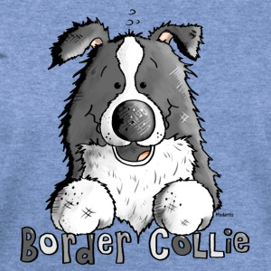 Sweet Border Collie - Dog - Dogs T-Shirts - Women's Wideneck Sweatshirt
