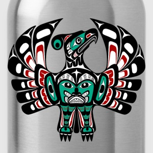 Northwest Pacific coast Haida art Thunderbird Sweatshirts - Water Bottle