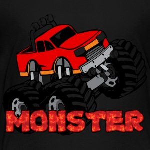 Monster Pickup Truck Sweatshirts - Toddler Premium T-Shirt