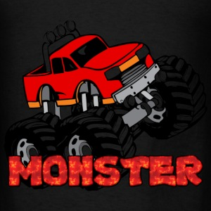Monster Pickup Truck Bags & backpacks - Men's T-Shirt