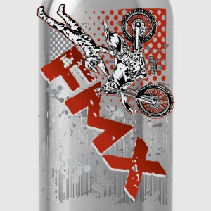 FMX Dirt Biker Red Kids' Shirts - Water Bottle
