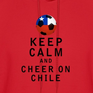 Keep Calm and Cheer On Chile - Men's Hoodie