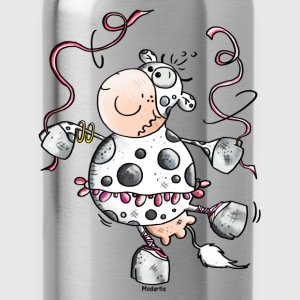 Prima Ballerina Cow - Cows Long Sleeve Shirts - Water Bottle