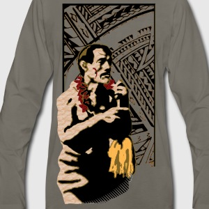 Fili Samoan Tribal art by Sku T-Shirts - Men's Premium Long Sleeve T-Shirt