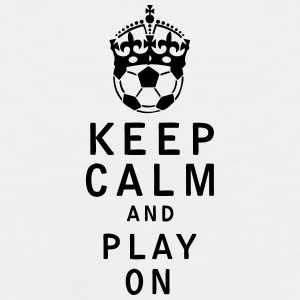 Keep Calm and Play On - Men's Premium Tank