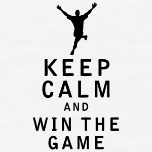 Keep Calm and Win The Game - Men's T-Shirt