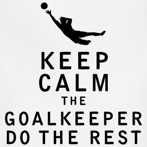 Keep Calm the Goalkeeper Do The Rest - Adjustable Apron