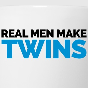 Real Men Make Twins Hoodies - Coffee/Tea Mug