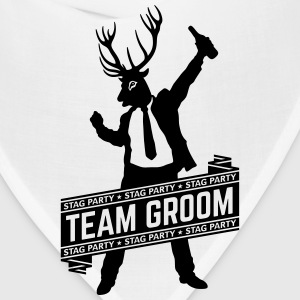 Team Groom / Stag Party (1C) T-Shirts - Bandana