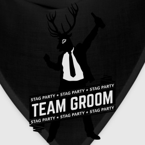 Team Groom / Stag Party (2C) T-Shirts - Bandana