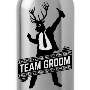 Team Groom / Stag Party (2C) T-Shirts - Water Bottle