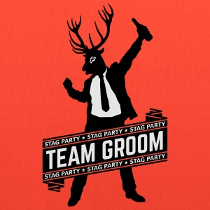 Team Groom / Stag Party (2C) T-Shirts - Tote Bag